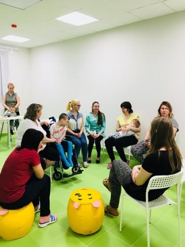 Встреча в стационарном отделении с нашими специалистами